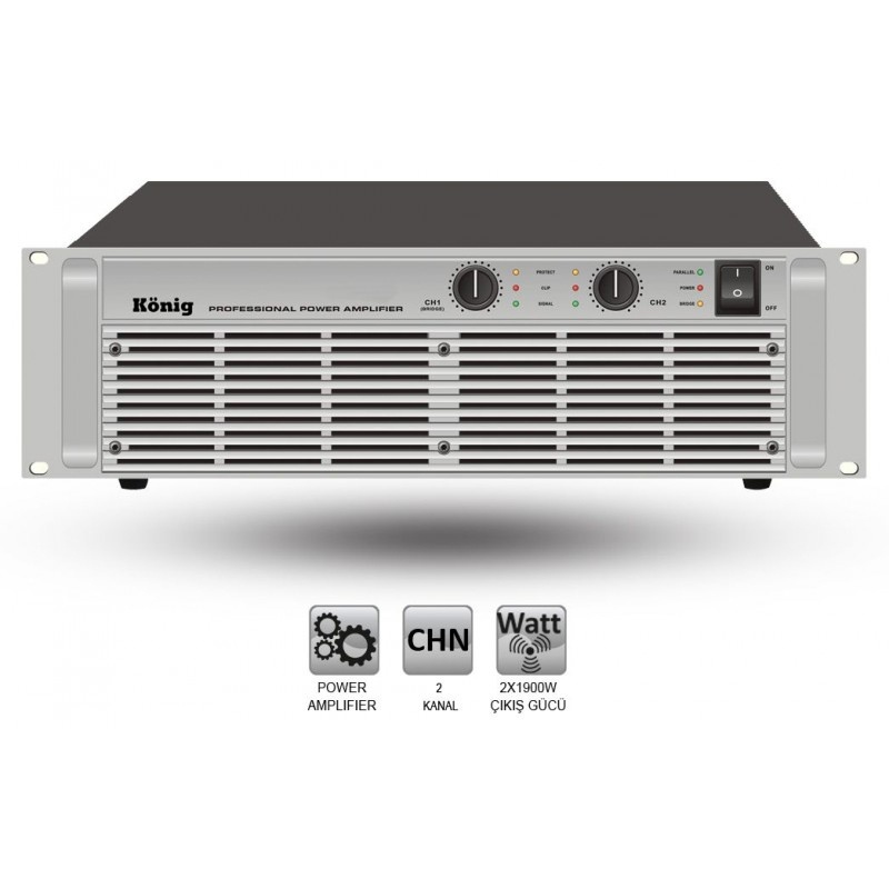 König A-4000/S 2x1800 Watt Power Anfi