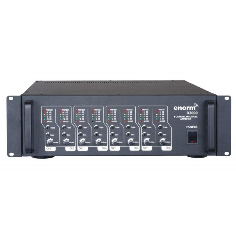 Enorm D2000 D-CLASS Multi Power Amplifikatör