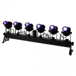ADJ TRIBAR Spot  6 Kafalı LED Pinspot Sistemi