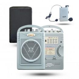 Osawa OSW-8102YH 50 Watt Yaka Mikrofonlu Portatif Taşınabilir Şarjlı Anfi