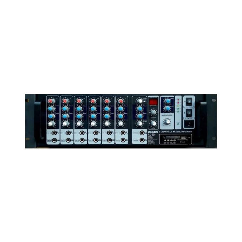 Dexun RD-600R 600 Watt Usb Girişli Dijital Reveb'li Cami Anfisi