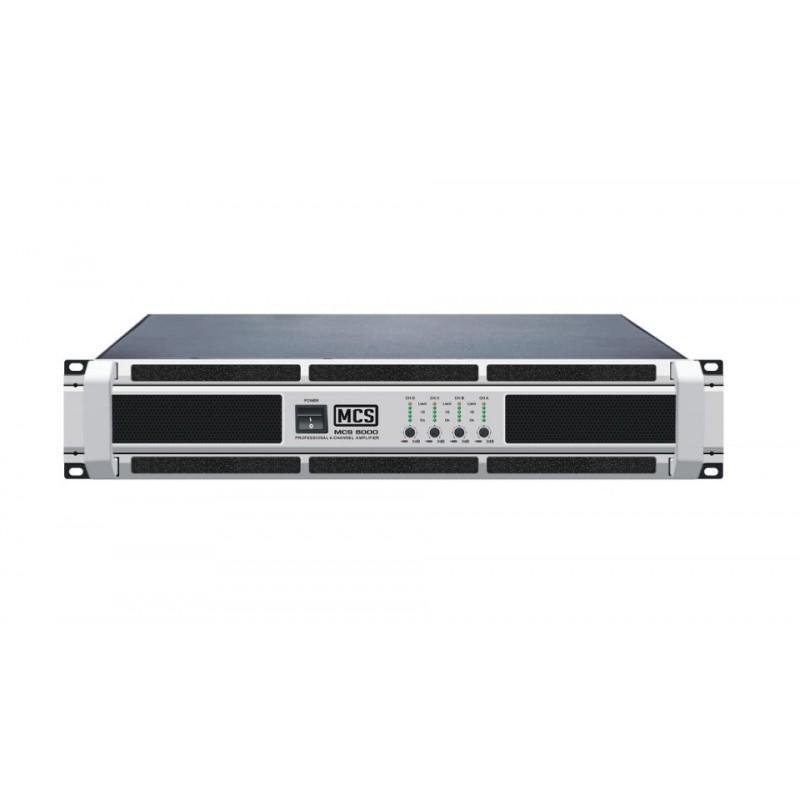 MCS 8000 4x2000 Watt Power Amplifikatör