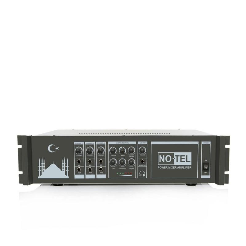 Notel NOT A 2400E 2x400 Watt Eko'lu Power Mikser Ezan Anfisi