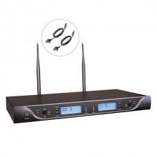 Bots BK-302 E UHF İkili Kablosuz Yaka Mikrofon