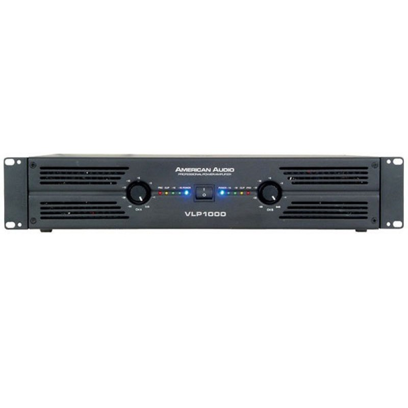 American Audio VLP-1000 2x500 Watt Power Amfi