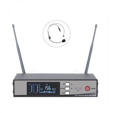 Bots BT-1000 K UHF Tekli Kablosuz Kafa Mikrofon