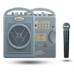 Osawa OSW-8102E 50 Watt El Mikrofonlu Portatif Taşınabilir Şarjlı Anfi