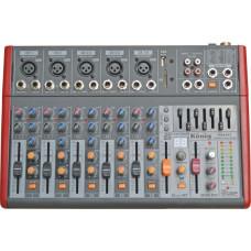 König K-802 FX 8 Kanal Ultra İnce Mikser