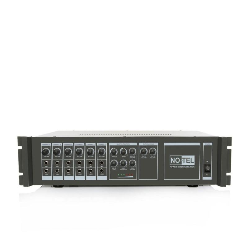 Notel NOT A 2100CT 100 Watt Hat Trafolu 100 Watt 4-8 Ohm Eko'lu Power Mikser Cami Amplifikatör