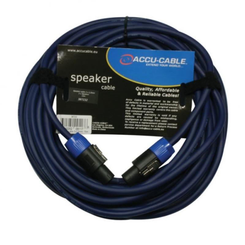 Accu-Cable AC-SP2-2.5/15 Hoparlör Kablosu
