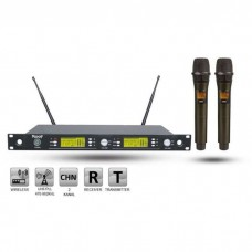 Roof R-1250S EE UHF Dijital Kablosuz 2 El Mikrofon