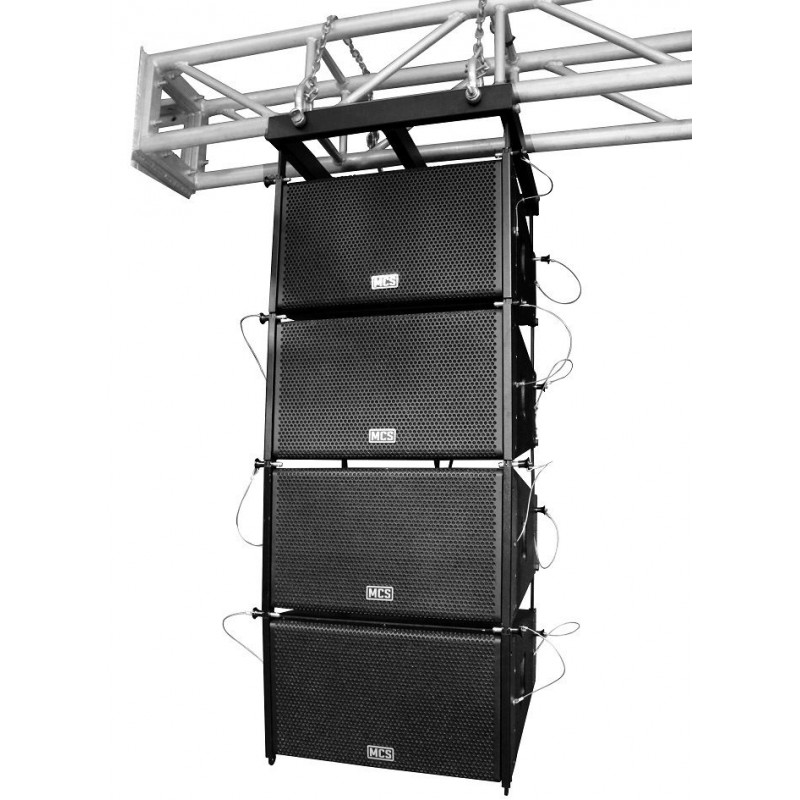 Mcs LA-QUADRO-PS SET SET Set 4'lü Aktif Line Array Sistem