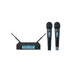 Mcs HS-82 UHF Dijital 2 li Telsiz mikrofon