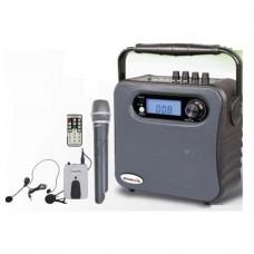 Osawa OSW-8130EY El +Yaka Mikrofonlu Portatif Taşınabilir Şarjlı Anfi