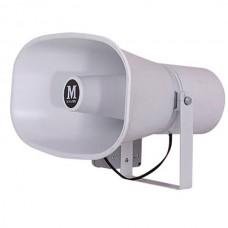 Mikafon HP35S 35W/16 Ohm Plastik Yassı Harici Horn Hoparlör