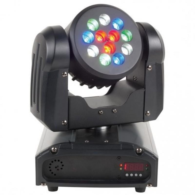 ADJ Inno Color Beam 12 Yüksek Performanslı 36 Watt LED'li Oynar Başlık Aksesuar