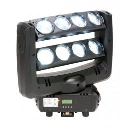 ADJ Crazy 8 Beyaz LED Takibi Yapan Çift LED Barlı Oynar Başlıklı Işık