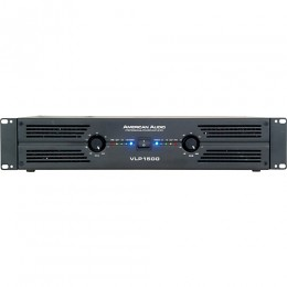 American Audio VLP-1500 2x750 Watt Power Amfi