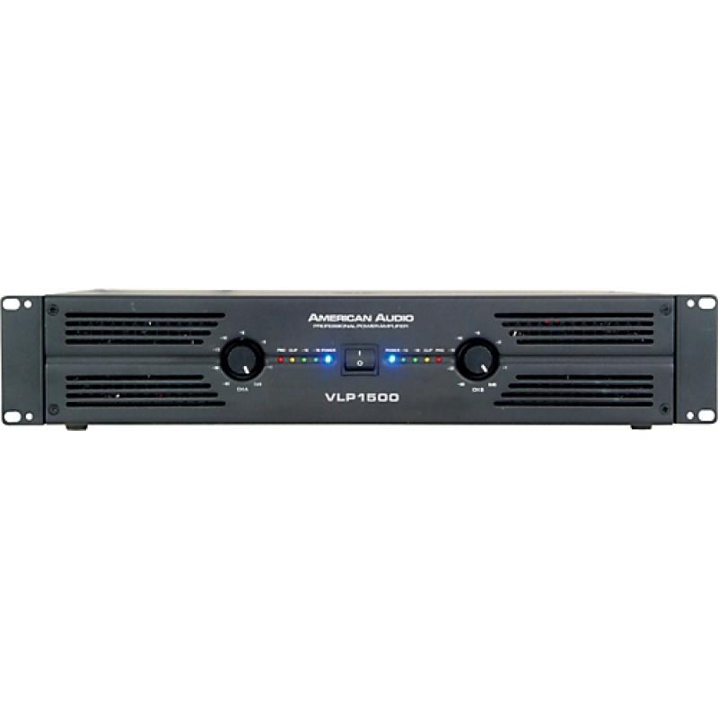 American Audio VLP-1500 2x750 Watt Power Amfi