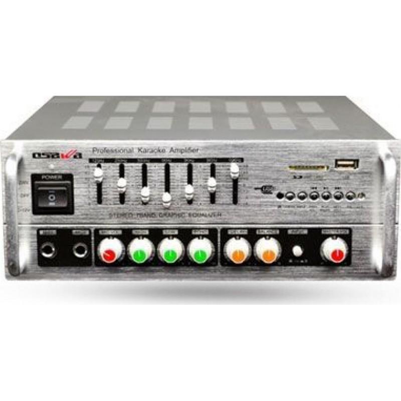 Osawa AV-987 2x200 Watt Stereo Mikser Anfi