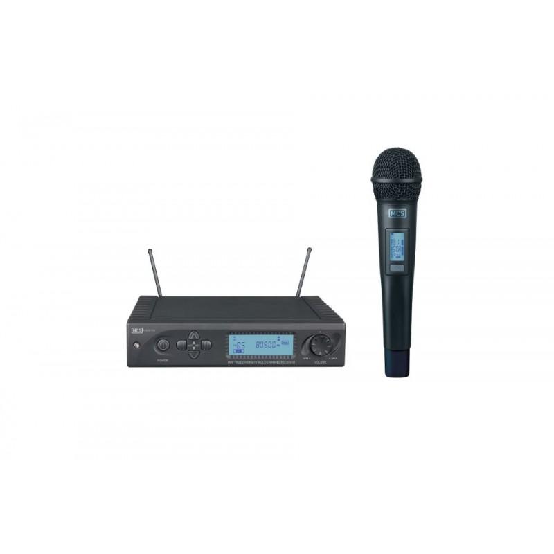 Mcs HS-81TD UHF Dijital Tekli Telsiz Mikrofon