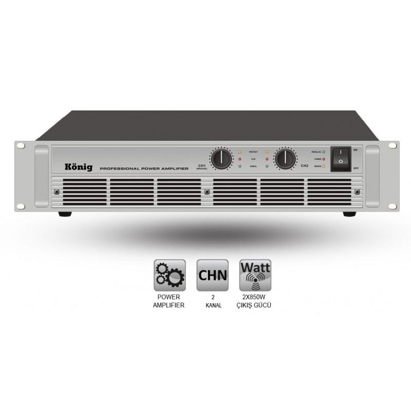 König A-2000/S 2x750 Watt Power Anfi