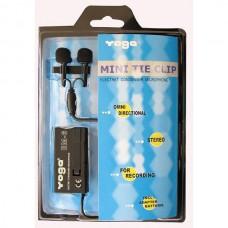 Yoga EM-06 İkili Tek Mandallı Yaka Mikrofonu