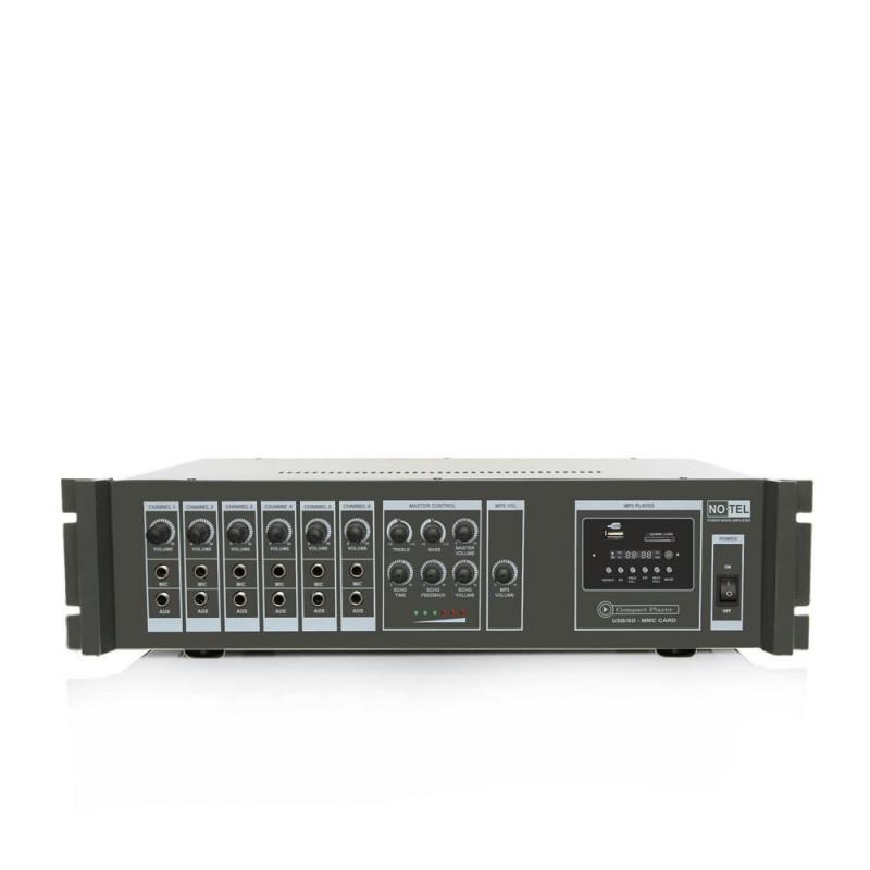 Notel NOT A 100MT 100 Watt Eko'lu Mp3 Çalarlı Hat Trafolu Mikser Anfi