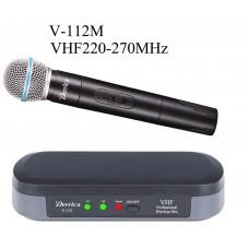Derrica V-112M VHF Kablosuz El Mikrofon