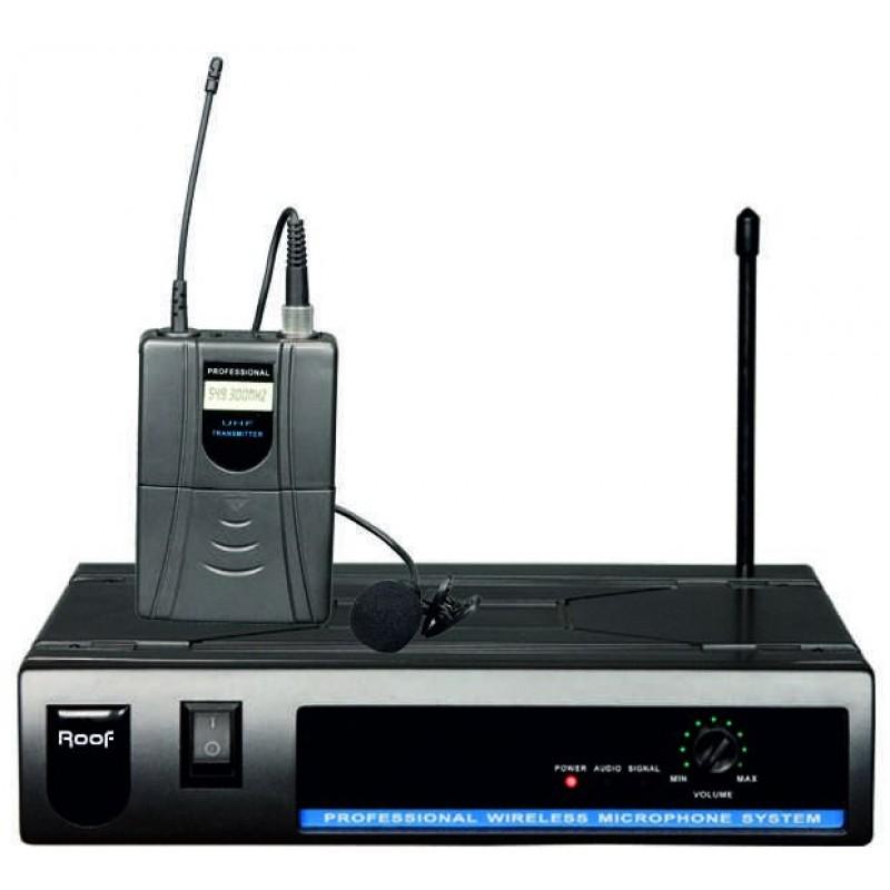 Roof R-801 EY UHF Analog Telsiz Yaka Mikrofon