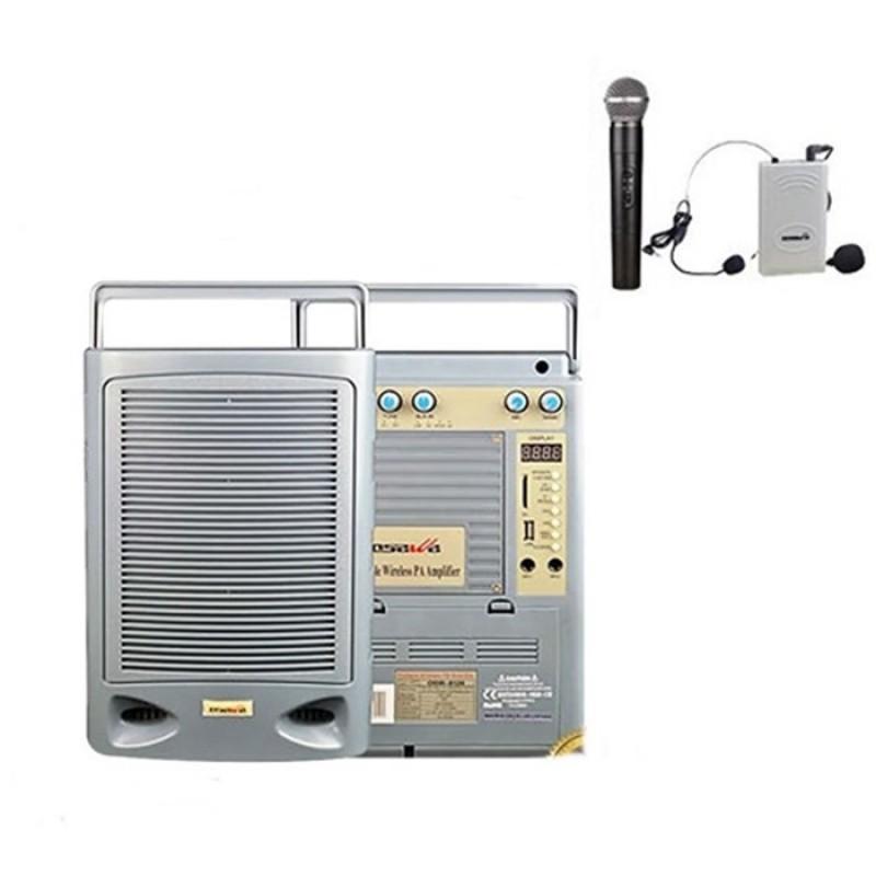 Osawa OSW-8120 75 Watt El+Yaka Mikrofonlu Portatif Taşınabilir Şarjlı Anfi