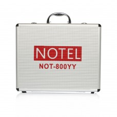 Notel NOT 800 YY 2x100 Kanal UHF Kablosuz Çift Yaka + Çift Headset Mikrofon