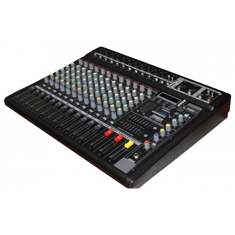 Notel  NOT 1200FX 12 Kanal Profesyonel Dijital Stüdyo Deck Ses Mikseri