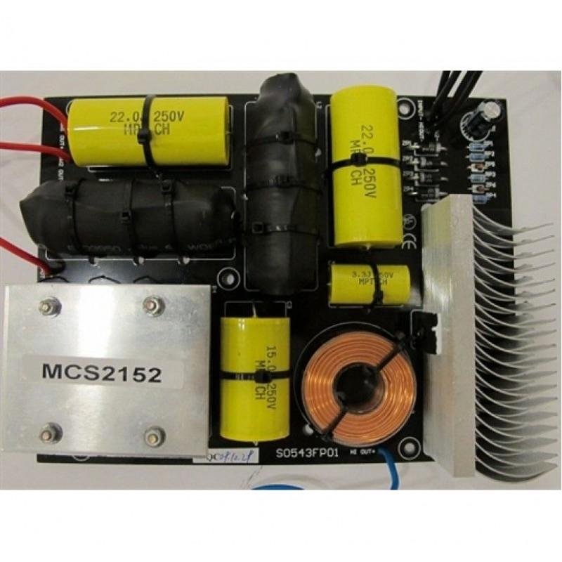 MCS 2152X 2 Yol X-Over 2400 Watt Max.
