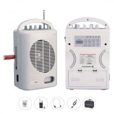 Bots SH 221U-YKH Seyyar Portatif 1 Yaka 1 Kafa Telsiz Mikrofonlu Mevlüt Anfisi
