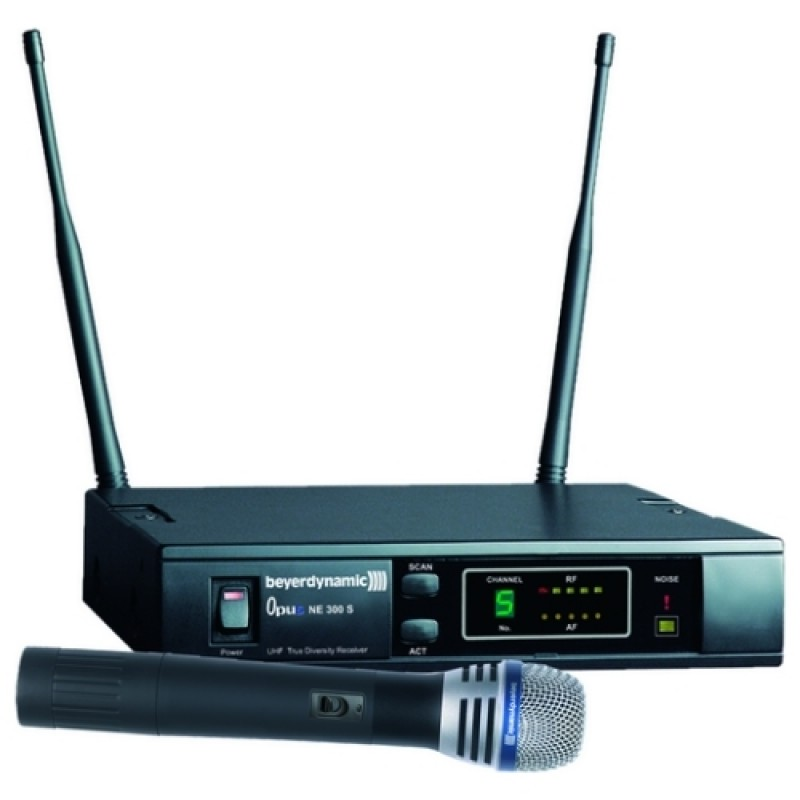 Beyerdynamic OPUS 669 SET UHF Tekli El Tipi Telsiz Mikrofon