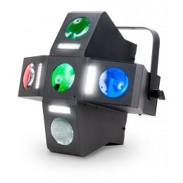 ADJ Monster Fun 5 Lensli ve 4 Strobelu Şeridi Olan Bir Oynar Başlıklı Işık
