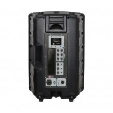 Notel NOT AH4012-9T 12'' (30 Cm) 300 Watt Aktif Plastik Kabin Hoparlör Tekerlekli Çekçekli
