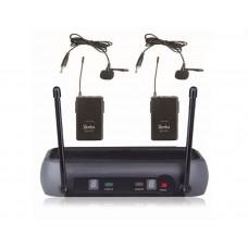 Derrica V-266HH VHF Kablosuz Çift Yaka Mikrofon