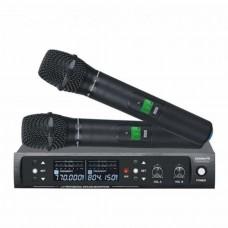 Dexun D-550E UHF Dijital İki Kanal Telsiz Çift El Mikrofon