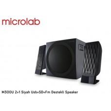 Microlab M300U 2+1 Siyah Usb+SD+Fm Destekli Speaker