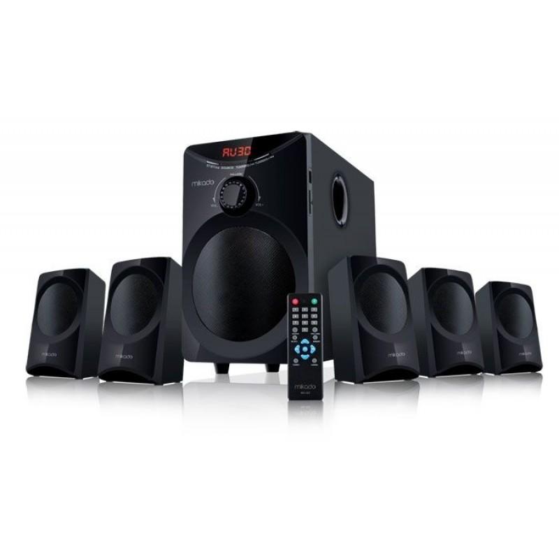 Mikado MD-353 5+1 Usb+SD+FM Destekli Multimedia Speaker
